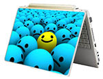 Laptop Notebook Skin Sticker: Happy Face