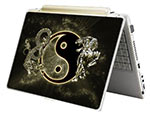 Laptop Notebook Skin: Ying Yang, Dragon - Tiger