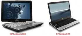 HP Pavilion tx2000 convertible & Pavilion HDX gaming notebook