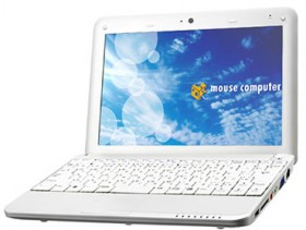 Mouse Computer launched LuvBook U100 mini-notebook