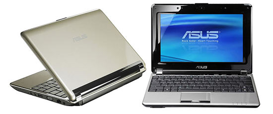 ASUS N10 Series Notebook With Intel Atom Processor