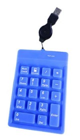 Flexible Silicone Rubber Numeric Keypad