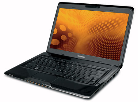 Toshiba Satellite T135 with 13.3-inch LED backlit screen