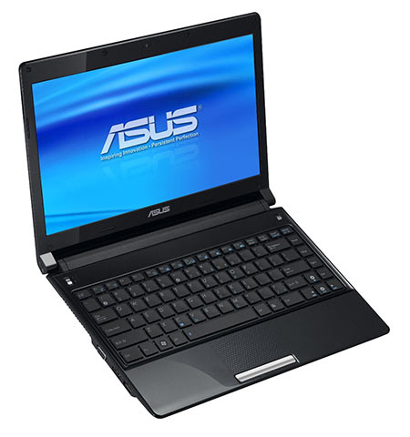 ASUS UL30Vt-X1 with an open lid