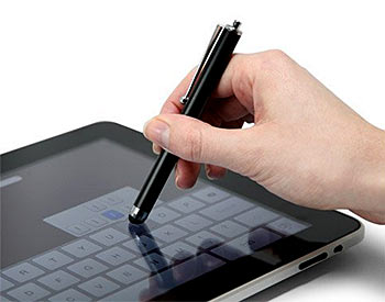A stylus for Apple iPad, iPhone, iPod