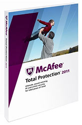 McAfee Total Protection 2011 anti-virus kit