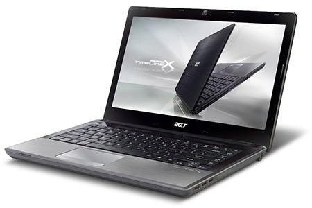 Acer Aspire TimelineX AS4820TG Laptop (Black Brushed Aluminum)