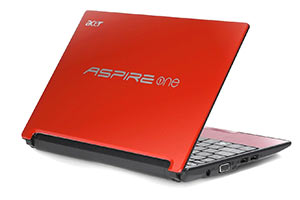 Acer Aspire One Ruby Red 10.1-Inch Netbook