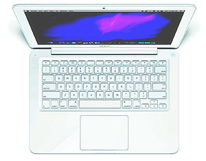 White Apple MacBook 13.3-Inch Laptop