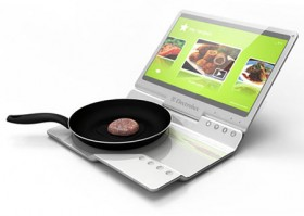 Mobile kitchen: how to cook food on your laptop