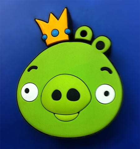 The Pig King from Angry Birds USB drive